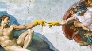 korona virus painting