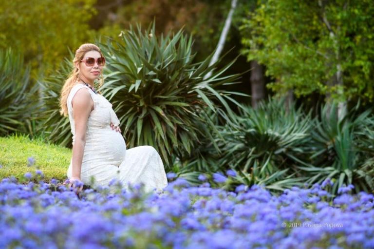 фотосесия за бременни морска градина бургас